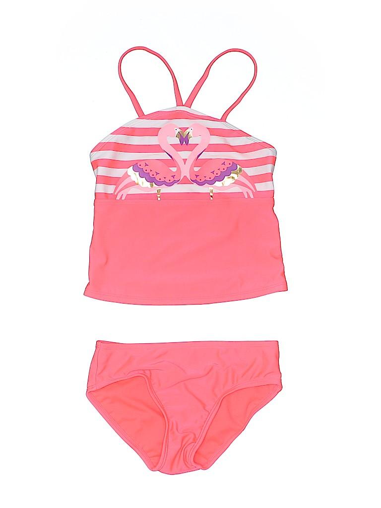 Cat & Jack Girls Two Piece Swimsuit Size 6X