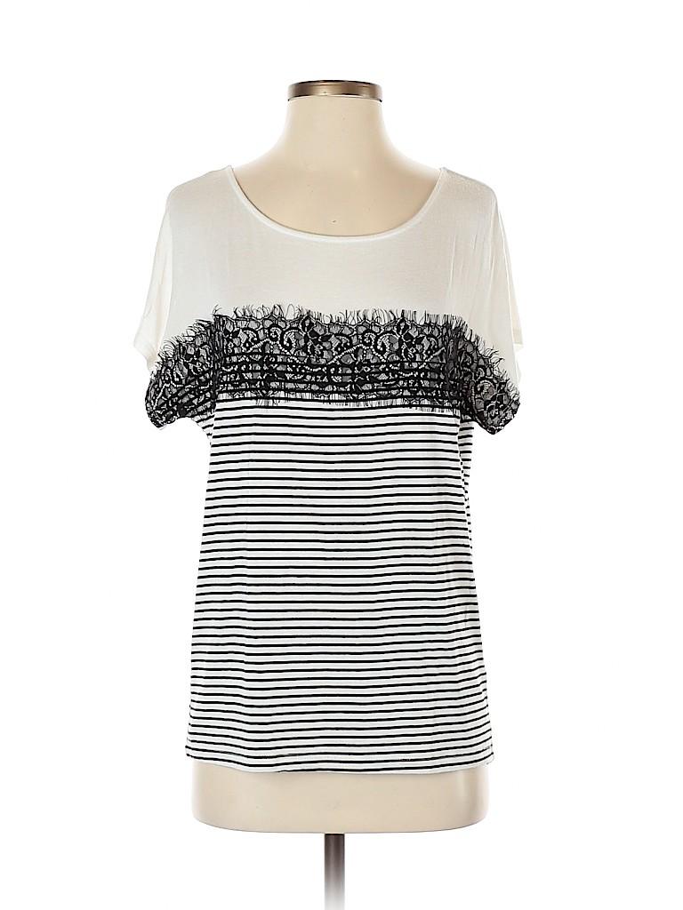 Charming Charlie Women Short Sleeve T-Shirt Size S