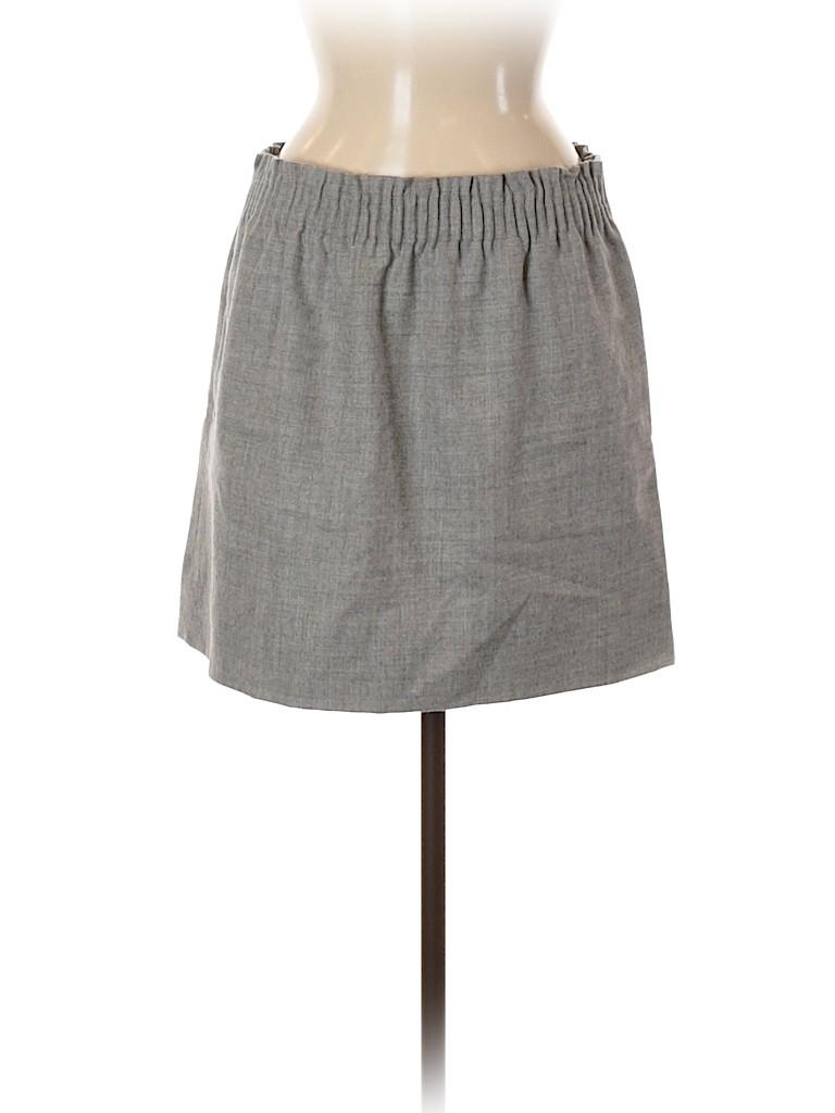 J. Crew Women Wool Skirt Size 10