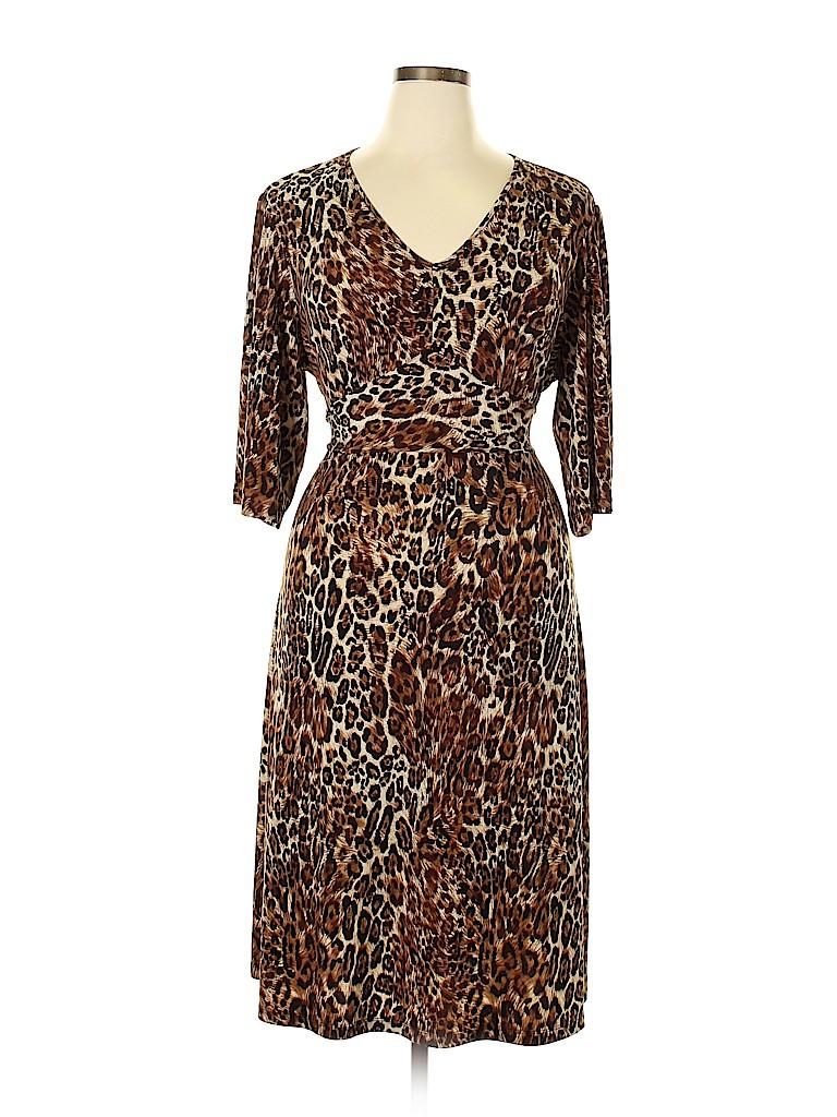 Style&Co Women Casual Dress Size 2X (Plus)