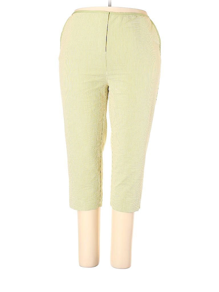 Liz Claiborne Women Casual Pants Size 18 (Plus)