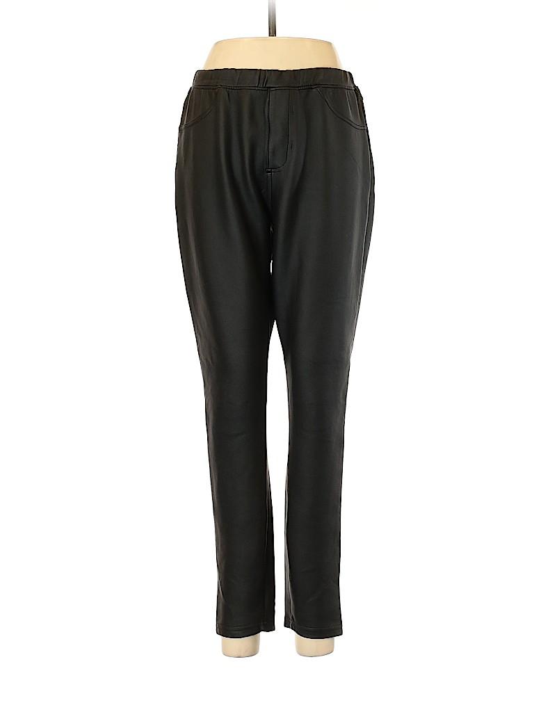 Xhilaration Women Faux Leather Pants Size XL