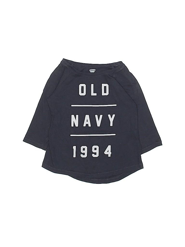Old Navy Boys 3/4 Sleeve T-Shirt Size 4T