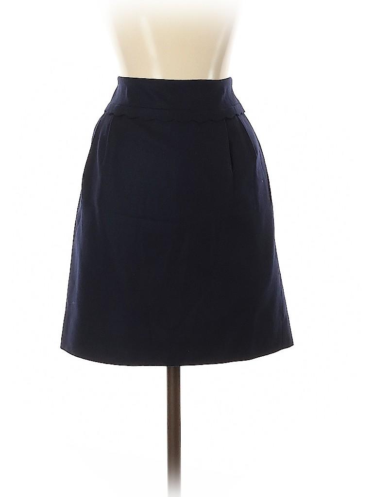 J. Crew Women Wool Skirt Size 0