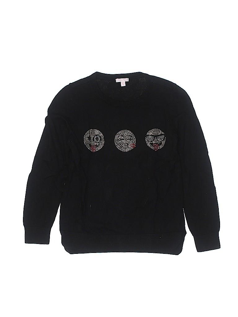 Me. n .u Girls Pullover Sweater Size 10