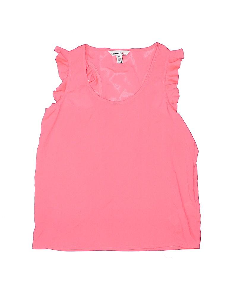 Forever 21 Girls Sleeveless Blouse Size 7 - 8