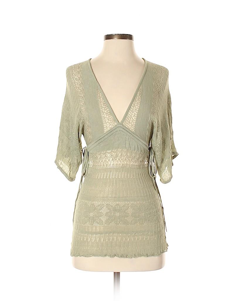 Arden B. Women Silk Pullover Sweater Size S