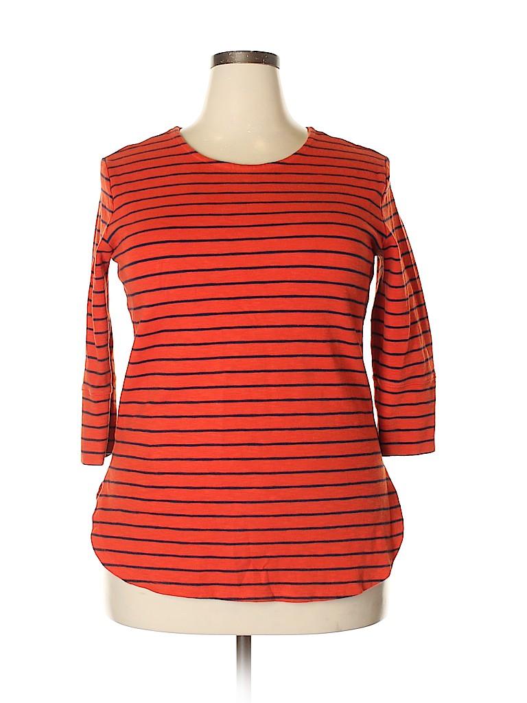Merona Women 3/4 Sleeve Top Size XL