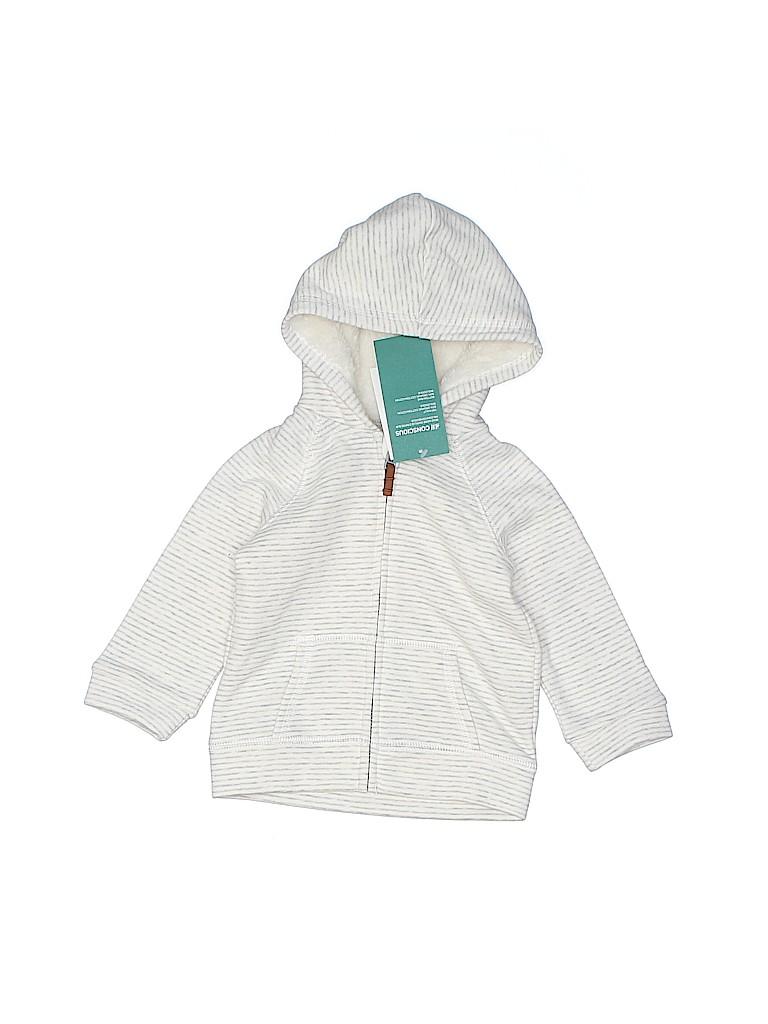 H&M Girls Zip Up Hoodie Size 6-9 mo