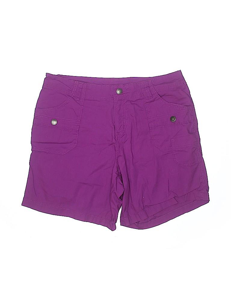 Lane Bryant Women Cargo Shorts Size 14 (Plus)