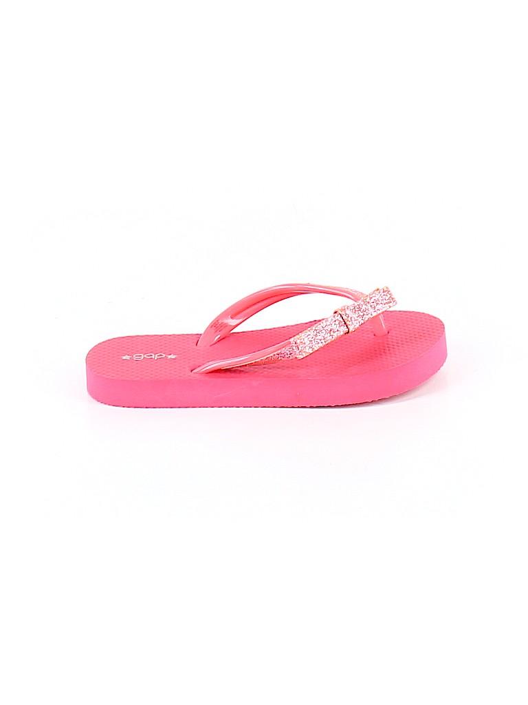 Gap Girls Flip Flops Size 10 - 11 Kids