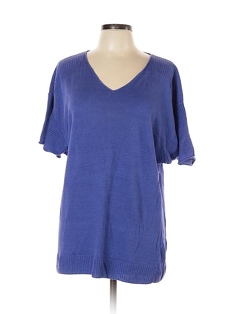 Lafayette 148 New York Women Pullover Sweater Size L