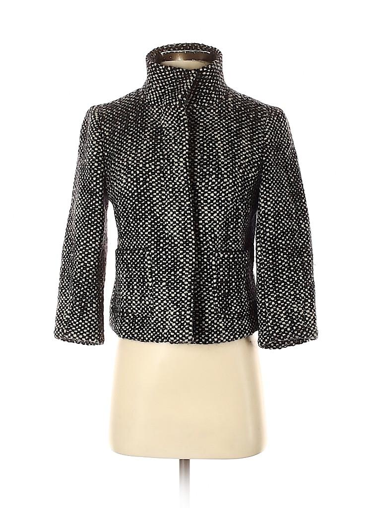 Ann Taylor LOFT Women Wool Coat Size S (Petite)