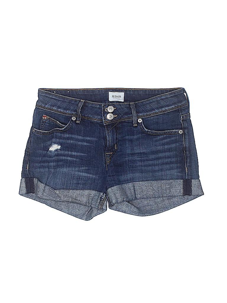 Hudson Jeans Women Denim Shorts 25 Waist