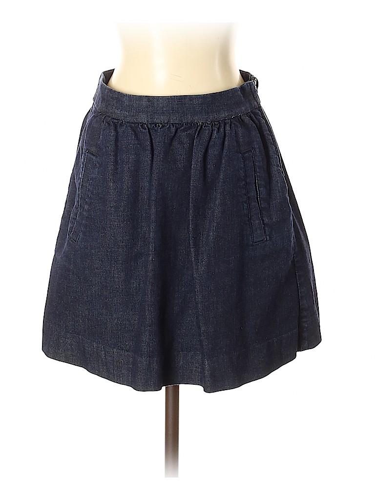 J. Crew Women Denim Skirt Size 0