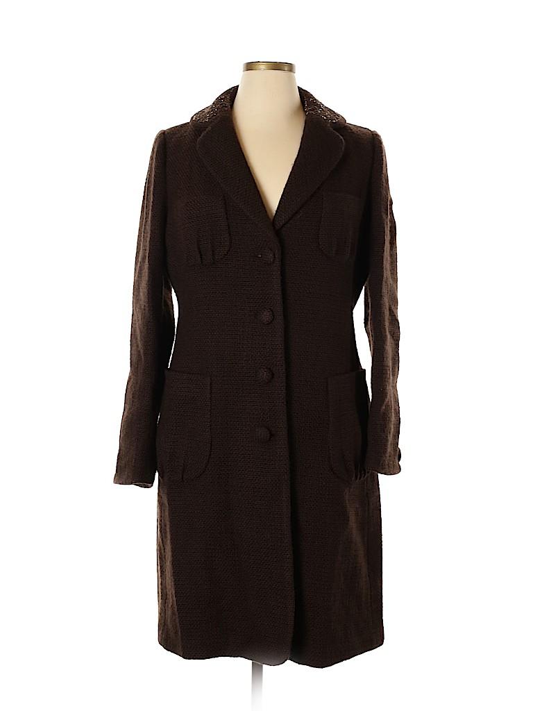 Banana Republic Women Wool Coat Size XL