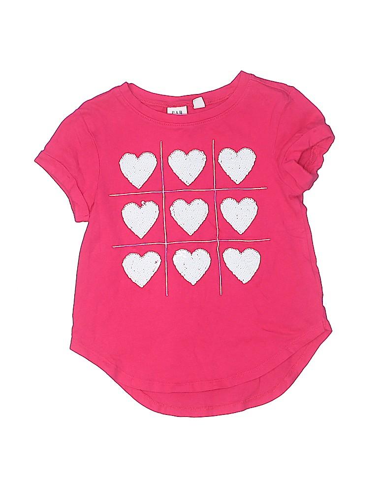 Gap Kids Girls Short Sleeve T-Shirt Size X-Small (Kids)