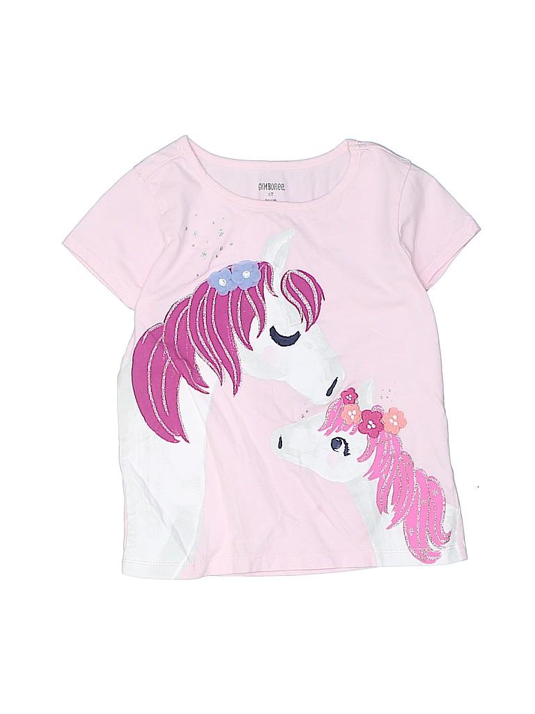 Gymboree Girls Short Sleeve T-Shirt Size 5T