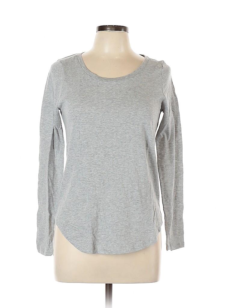Ann Taylor LOFT Women Long Sleeve T-Shirt Size M