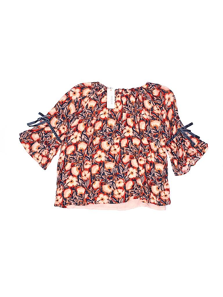 Gymboree Girls Short Sleeve Blouse Size 2