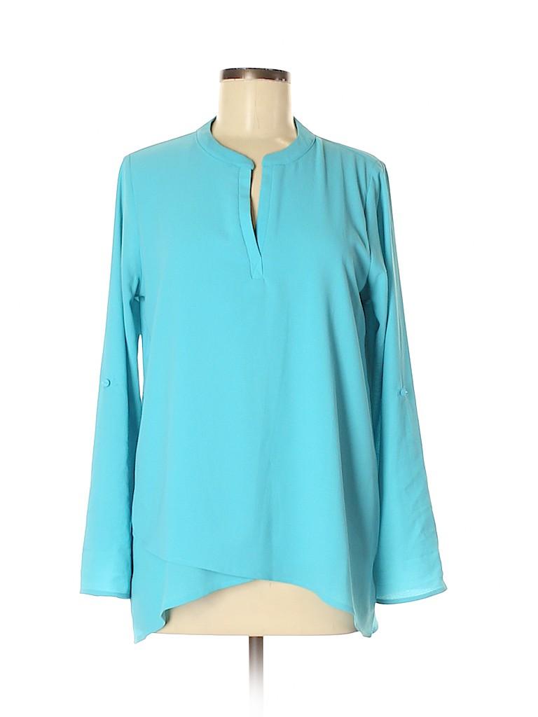 Gibson Women Long Sleeve Blouse Size M