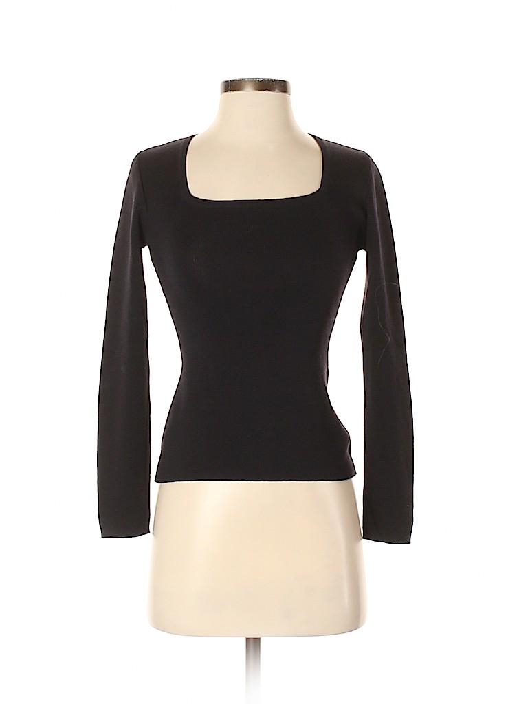 Henri Bendel Women Wool Pullover Sweater Size S