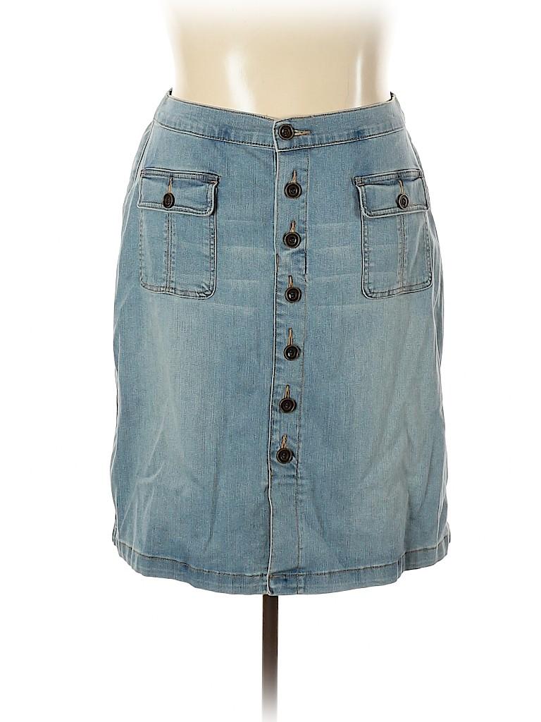Lane Bryant Women Denim Skirt Size 20 (Plus)