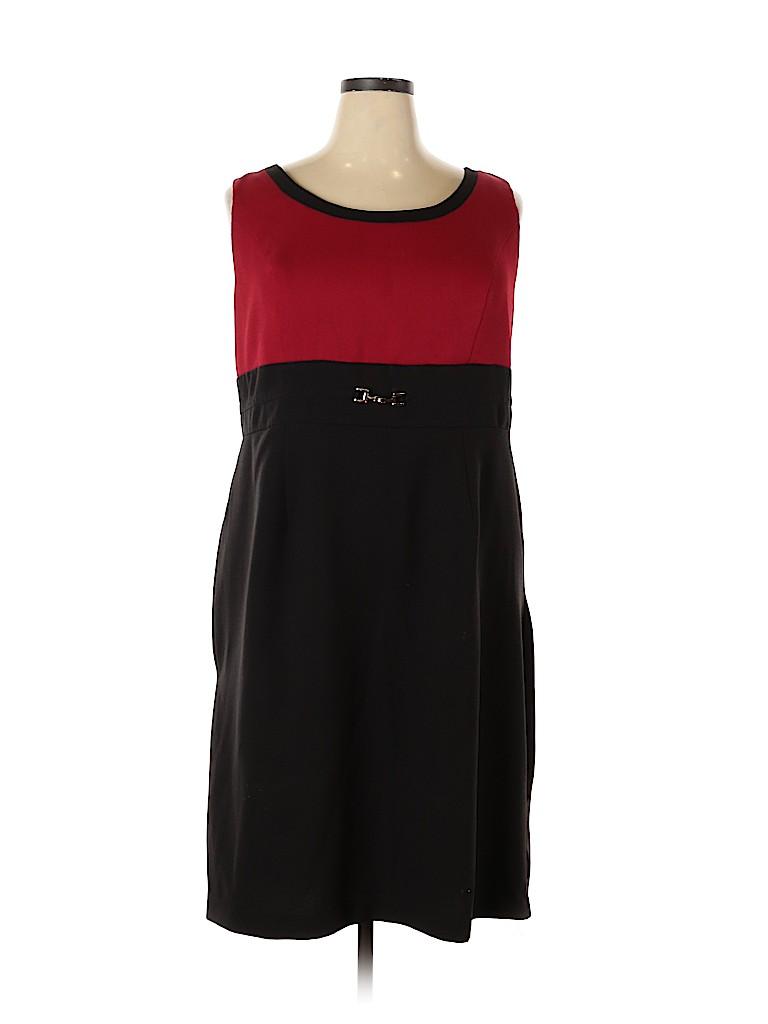 Studio One Women Casual Dress Size 22 (Plus)