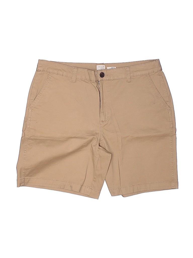 A New Day Women Khaki Shorts Size 12