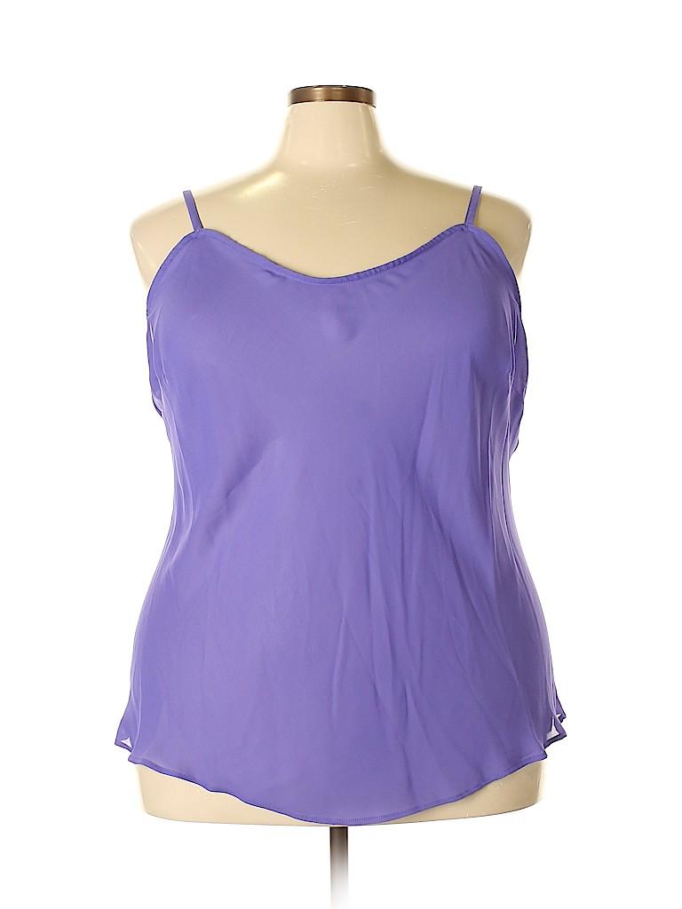 Brand Unspecified Women Sleeveless Blouse Size 26 - 28 (Plus)