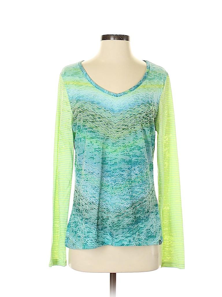PrAna Women Long Sleeve T-Shirt Size L