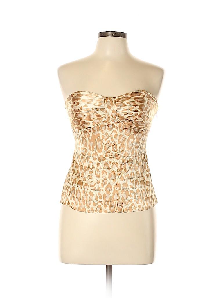 Arden B. Women Sleeveless Silk Top Size L