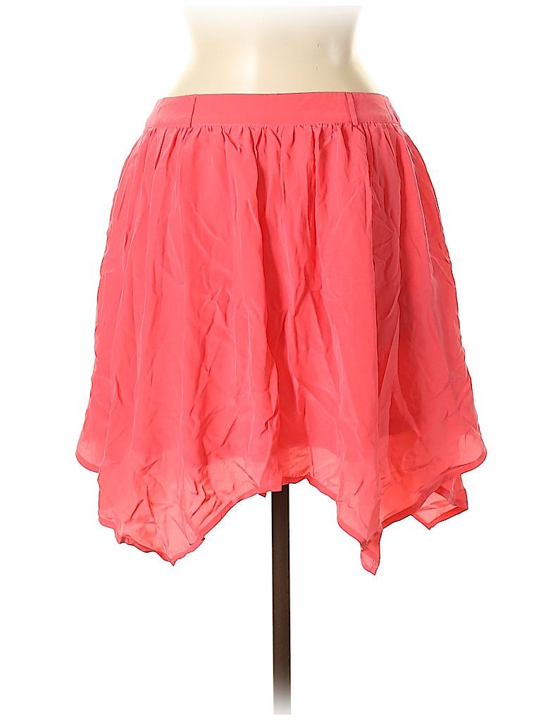 Yumi Kim Women Silk Skirt Size M