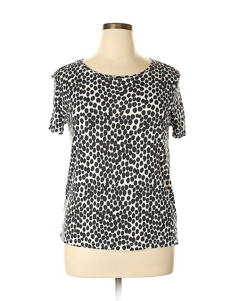 Ann Taylor LOFT Women Short Sleeve T-Shirt Size L