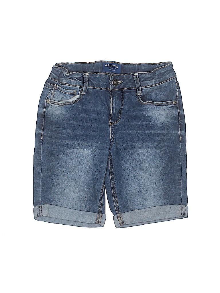 Arizona Jean Company Girls Denim Shorts Size 10