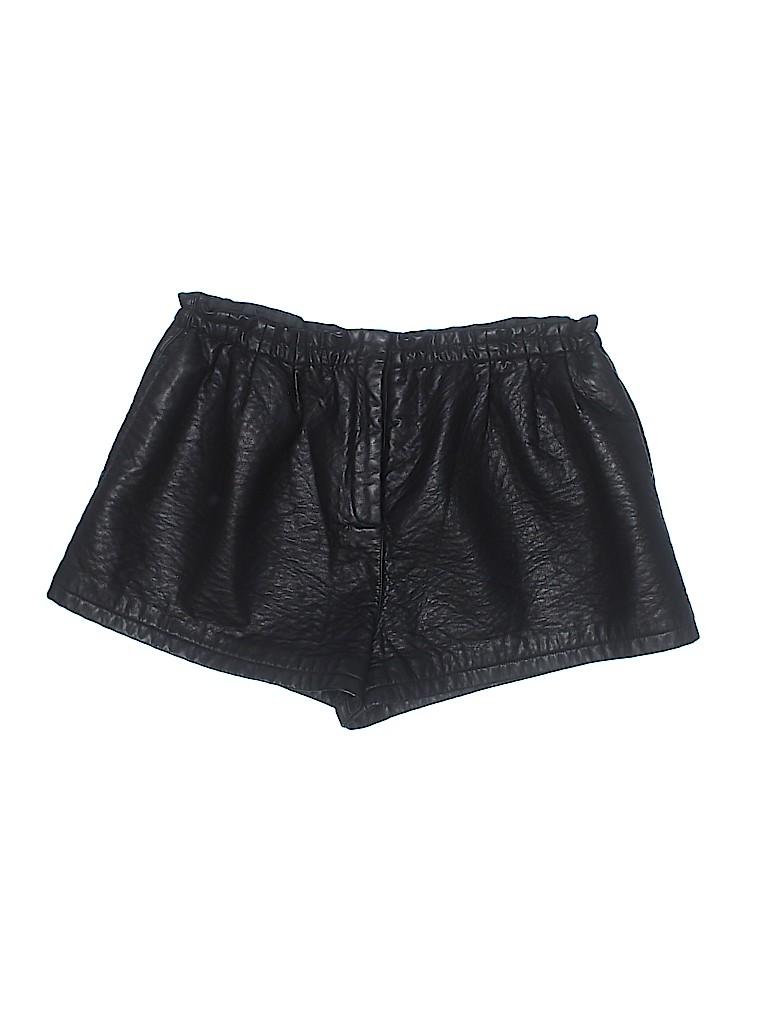 ASOS Women Faux Leather Shorts Size 14