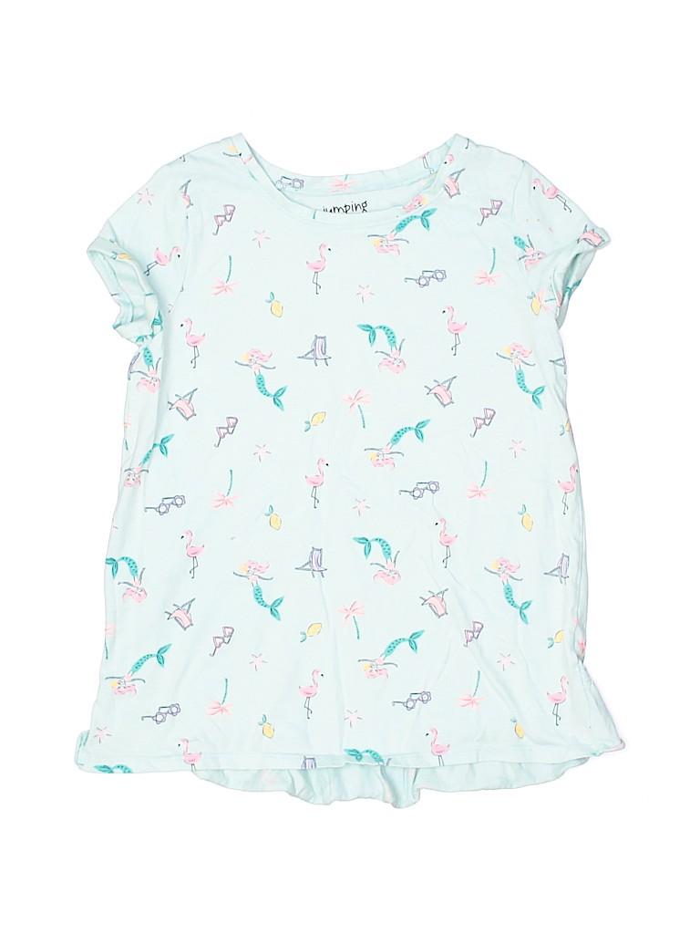 Jumping Beans Girls Short Sleeve T-Shirt Size 10