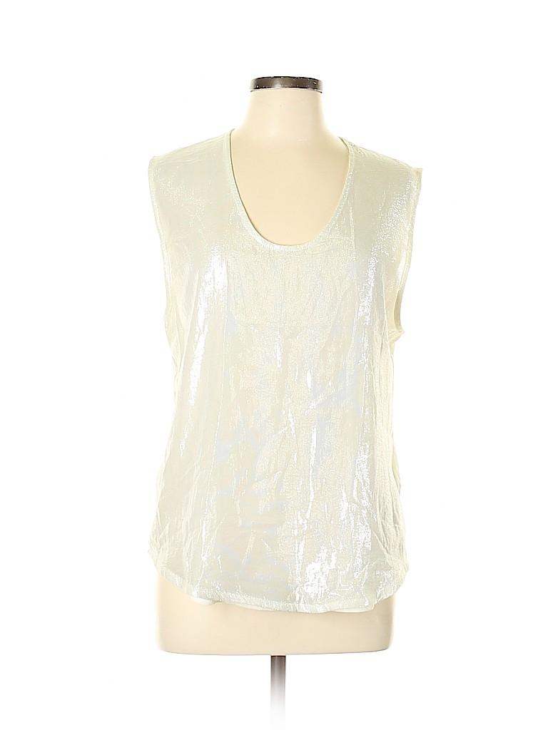 J. Crew Women Sleeveless Silk Top Size L