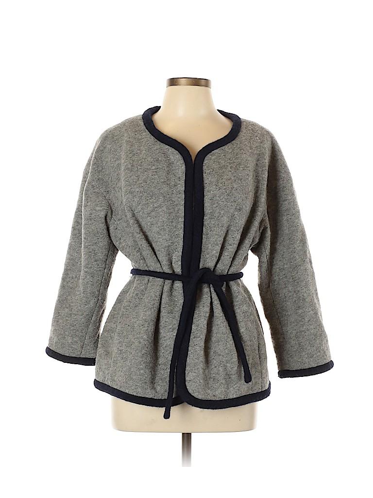 J. Crew Women Wool Coat Size M