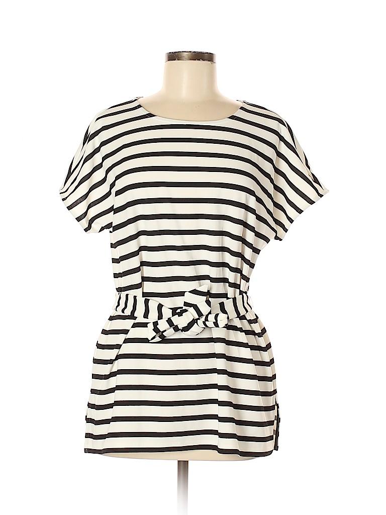 Ann Taylor Factory Women Short Sleeve Top Size M