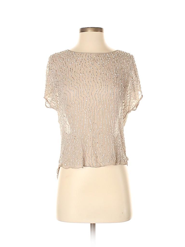 Parker Women Short Sleeve Blouse Size S