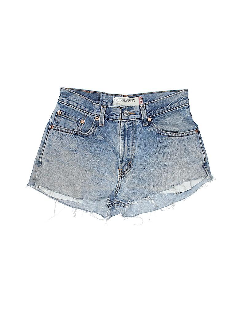 Levi's Women Denim Shorts 29 Waist