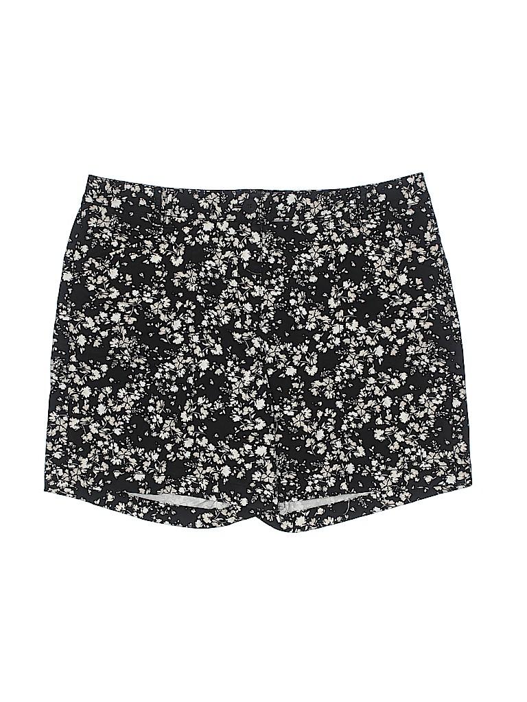 J.jill Women Khaki Shorts Size 14 (Petite)