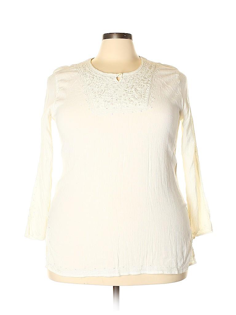 Unbranded Women Long Sleeve Blouse Size XXL