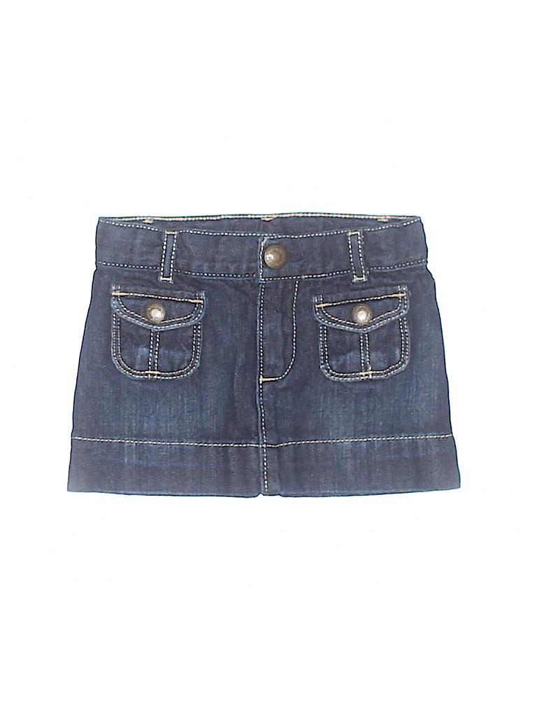 Baby Gap Girls Denim Skirt Size 18-24 mo