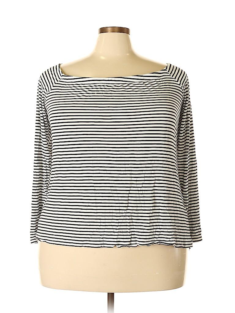 City Chic Women Long Sleeve Top Size 22 Plus (XL) (Plus)