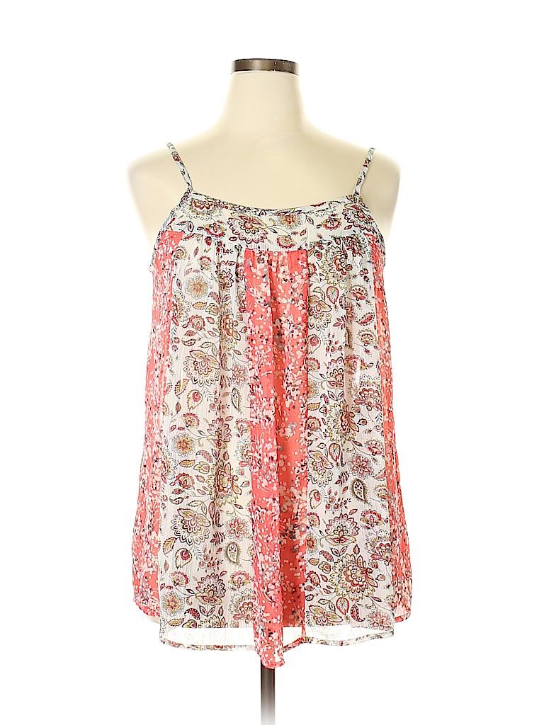 Torrid Women Sleeveless Blouse Size Lg Plus (0) (Plus)