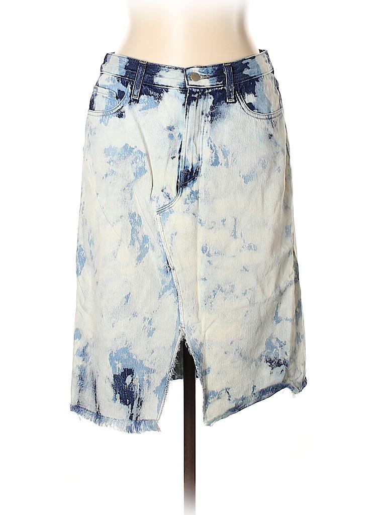 J Brand Women Denim Skirt 31 Waist