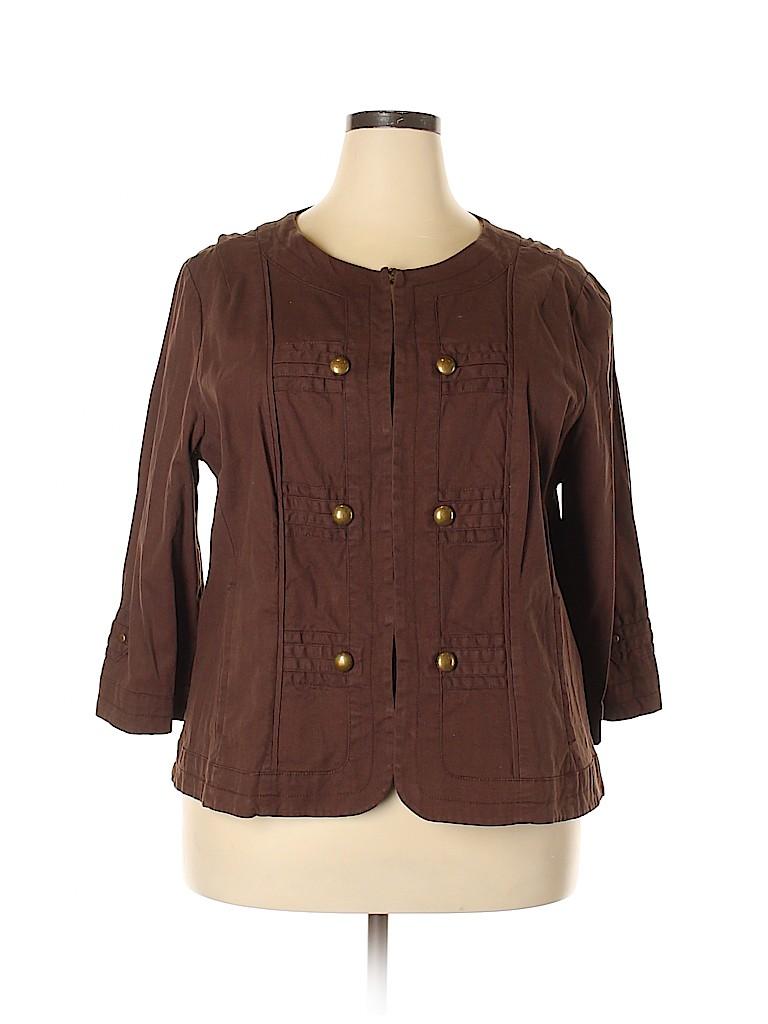 DressBarn Women Jacket Size 18 - 20 (Plus)