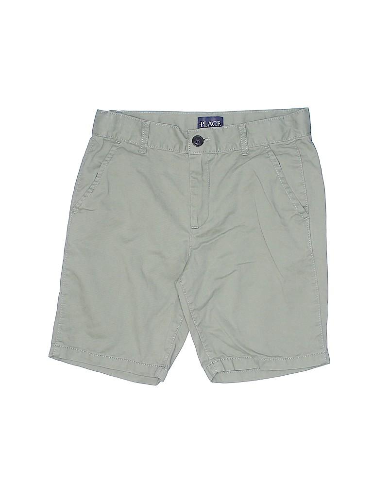 The Children's Place Boys Khaki Shorts Size 8 (Husky)